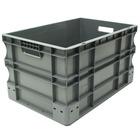Caja Eurobox de Plástico Gris 40 x 60 x 33 cm Ref.SPK 4632