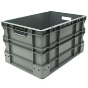 Caja Eurobox Gris 40 x 60 x 33 cm Ref.SPK 4632