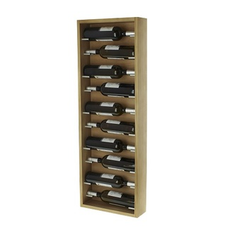 Botellero de Pared Modular para 10 botellas Roble