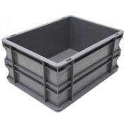 Caja Plástica Eurobox Sólida 30 x 40 x 18 cm Ref.SPK 4316
