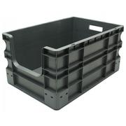 Caja Plástica Eurobox Frente Abierto 40 x 60 x 29 Ref.SPK 4628OF