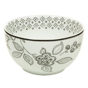 Boel Urban Chic Floral en Porcelana 10 x 10 x 8 cm
