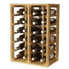Botellero para vino de pino 24 botellas