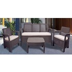 Conjunto de terraza y Jardín Tarifa Lounge Triple