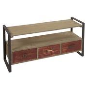 mesa televisin list en madera de abeto x x cm