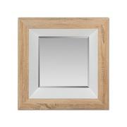 Espejo de Pared Cuadrado en Madera 7 x 67 x 67 cm