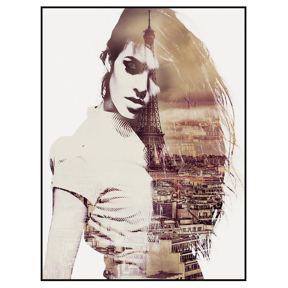 Cuadro Impresión Mujer 2,5 x 60 x 80 cm