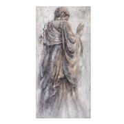 Pintura de Monje en Lienzo 3,8 x 70 x 140 cm