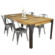 Mesa en Madera Boston Vintage Industrial