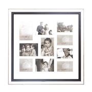 Cuadro Portafotos Múltiple Poliestireno 2,5 x 70 x 70 cm