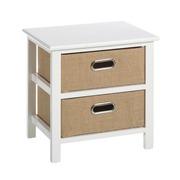 Mueble Auxiliar Sack Trend 2 Cajones 29 x 40 x 42 cm
