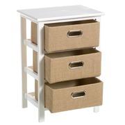 Mueble Auxiliar Sack Trend 3 Cajones 29 x 40 x 58 cm