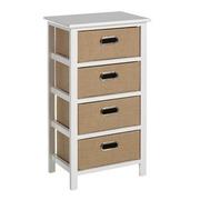 Mueble Auxiliar Sack Trend 4 Cajones 29 x 40 x 74 cm