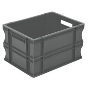 Caja Eurobox Sólida Gris 30 x 40 x 23,5 cm SPK 4322