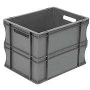 Caja Gris Eurobox 30 x 40 x 29 cm SPK 4329