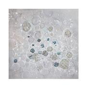 Cuadro al Oleo Burbujas 4 x 100 x 100 cm