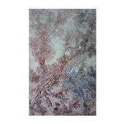 Cuadro Arbol Rojo Pintado al Oleo 4 x 80 x 130 cm