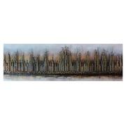 Cuadro Abstracto Oro Pintado al Oleo 4 x 150 x 50 cm