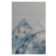 Cuadro Montaña Nevada al Oleo 4 x 60 x 90 cm