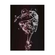 Cuadro Bailarina de Ballet Impreso en Lienzo 3 x 80 x 120 cm
