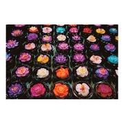 Cuadro Flores de Colores Impreso en Lienzo 3 x 120 x 80 cm