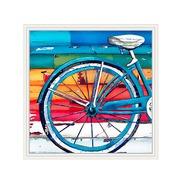 Cuadro Rueda Bicicleta en Acrílico 4 x 92 x 92 cm