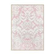 Cuadro Arabesco Blanco Rosa 4 x 100 x 140 cm