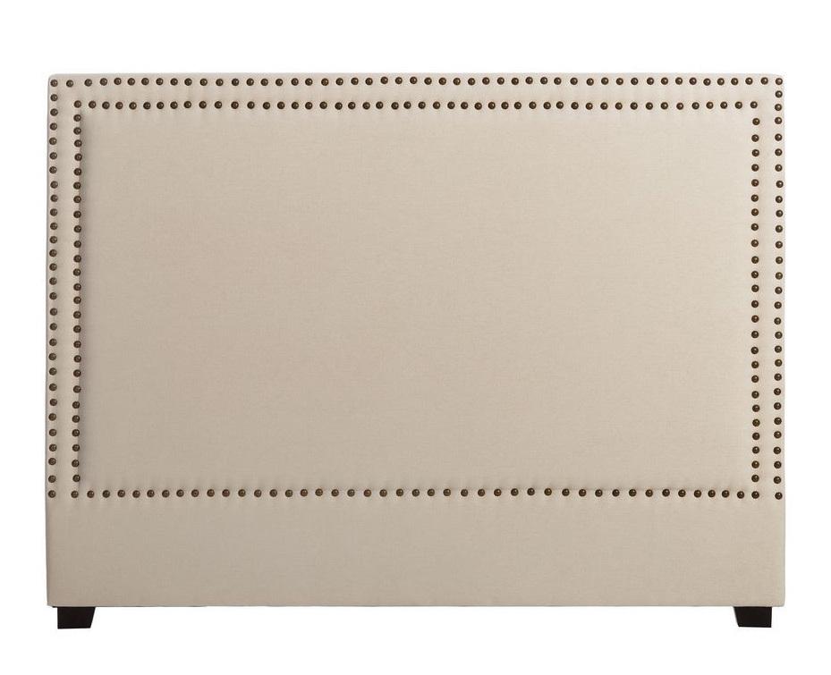 Cabecero Cama de Madera Tapizado 8 x 160 x 120 cm