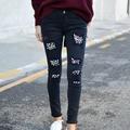 Pantalón Negro Perlitas