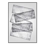 Cuadro Impresión Abstracto con marco 3 x 65 x 92 cm