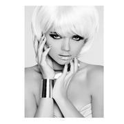 Cuadro Fotoimpresión Chica Sobre Cristal 1,2 x 80 x 120 cm