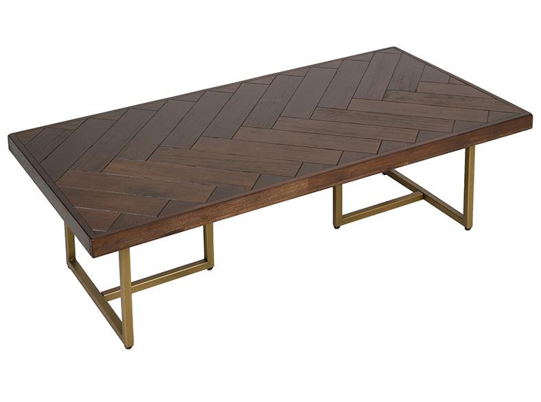 Mesa de Centro Bruno de Madera de Acacia 60 x 120 x 35 cm