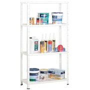 Estantería Kit Basic Blanca 4 Estantes 30 x 75 x 150 cm