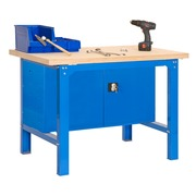 Mesa Trabajo Kit SimonWork BT6 PlyWood Locker 1 Estante