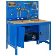 Mesa de Trabajo en Kit SimonWork BT2 Locker 1 Estante