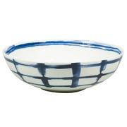 Bowl Indi Cuadrícula en Porcelana 19 x 19 x 5 cm