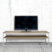 Mesa de Televisión con Estante iCub Estilo Industrial