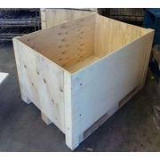Cajón de Madera Apilable Seminuevo 700 x 800 x 1100 mm