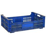 Caja con Asas Abiertas 50x32 Azul Usada Mod.Samoes 410