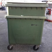 Contenedor de Basura 800 Lts Usado Verde Ref.CB800LU