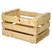 Caja de Madera Fruta Usada Nueva 35 x 50 x 25 cm