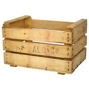 Caja de Madera Usada para Fruta Mod. Alonso 35 x 50 x 30 cm