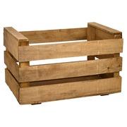 Caja de Madera para Fruta Nueva Envejecida 35 x 50 x 25 cm