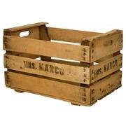 Caja de Madera Usada para Fruta Mod. Marco 35 x 50 x 30 cm