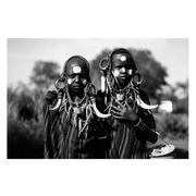 Cuadro aborígenes Fotoimpreso en Cristal 1,2 x 150 x 100 cm