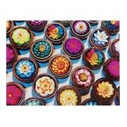Cuadro Flores de Colores Impreso en Lienzo 3 x 80 x 60 cm