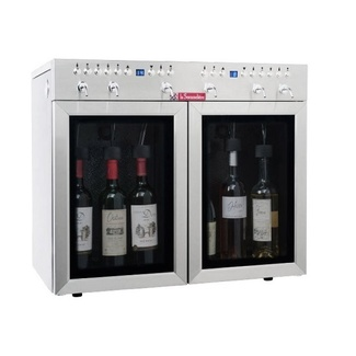 Dispensador de vino por copas 6 botellas Multitemperatura La Sommeliere