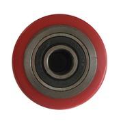Rodillo Vulkollan 80 mm Rojo Ref.580550