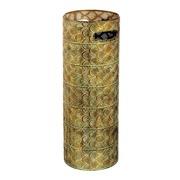 Paraguero hierro Oro Verde 20 x 20 x 53 cm