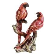 Figura Papagayo Rosa 7,5 x 14,5 x 21,5 cm
